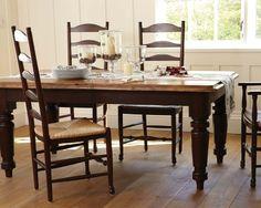 Farmhouse Rectangular Dining Table #williamssonoma