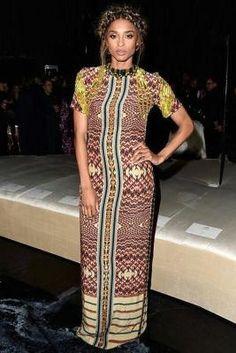Ciara wearing H&M Spring 2016 Dress
