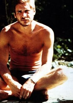 Harrison Ford...not bad looking back in the day (he's my old man crush)