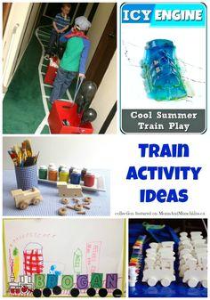 Train Games & Activities For Kids - Moms & Munchkins