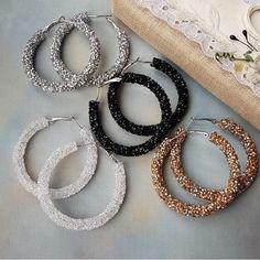 Indian Jewelry Earrings, Fancy Jewellery, Jewelry Design Earrings, Ear Jewelry, Stylish Jewelry, Cute Jewelry, Beaded Earrings, Beaded Jewelry, Jewelery