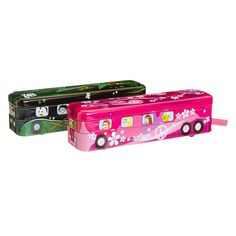 wheels on the bus pencil case