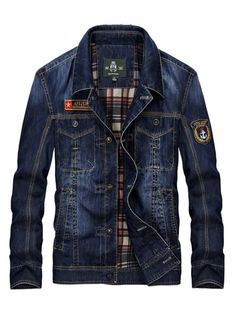 Cheap mens jeans coat, Buy Quality denim jacket men directly from China jacket men jeans Suppliers: Men's Clothing New Fashion Retro Denim Jackets Mens Jeans Coats Spring Plus Size Casual Jackets Brand CLOTHES Denim Coat Denim Jacket Fashion, Denim Jacket Men, Denim Coat, Denim Jeans, Denim Jackets, Mens Down Jacket, Jeep, Trench Coat Men, Jacket Brands