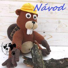 Bobr stavitel - návod na háčkování Tigger, Disney Characters, Fictional Characters, Teddy Bear, Toys, Animals, Art, Animales, Art Background