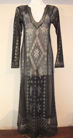 aae2ac35552d Excellent Condition Never Worn Vintage 1920-30 s ART DECO Egyptian ASSIUT  Dress