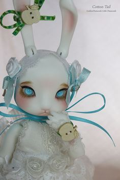 Spring Time Is Near, Bunnies Will Play ^-^ by goldendiamonds, via Flickr