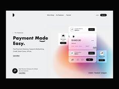 Header_UI by DStudio™ on Dribbble Dashboard Design, App Ui Design, Mobile App Design, User Interface Design, Design Web, Dashboard Ui, Graphic Design, Web Layout, Layout Design