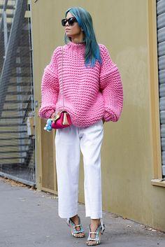Street Style jerseys de punto   Galería de fotos 25 de 26   GLAMOUR