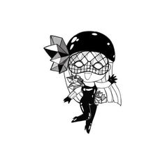 tricia campbell hall: :::MORE CHiBi GAGA   can't get enough ❤ liked on Polyvore featuring lady gaga, fillers, gaga, backgrounds and drawings