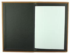 Carbon Rod | A5 - Tan Faux Leather - Black Buckram