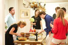Fiesta Dinner Party with a Southern Flare. Love, Mary Hester
