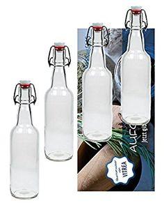 20 leere glasflaschen 250 ml bor saftflaschen mit schraubverschluss zum selbst abf llen 0 25. Black Bedroom Furniture Sets. Home Design Ideas