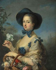 Jeanne Antoinette Poisson, Marquise de Pompadour, also known as Madame de Pompadour December 1721 – 15 April French pronunciation: [pɔ̃.duːʁ]) was a member of the French court and was the official chief mistress of Louis XV from 1745 to her death. Madame Pompadour, Versailles, Marie Antoinette, Jean Antoine Watteau, 18th Century Fashion, Lily Of The Valley, Beautiful Gardens, Renaissance, Vans