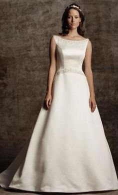 New With Tags Casablanca Wedding Dress 1658, Size 12