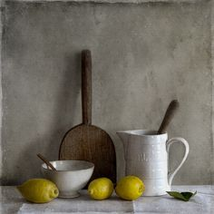 Still Life With French Lemons, processing by Tineke Stoffels Still Life 2, Still Life Drawing, Still Life Photos, Painting Still Life, Life Pictures, Be Still, Paint Photography, Still Life Photography, Light Photography