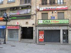 """""""Ciudadanos por la Defensa del Patrimonio"""" pide dignificar el entorno de los blasones de Salamanca http://revcyl.com/www/index.php/cultura-y-turismo/item/7041-%E2%80%9Cciudada"""