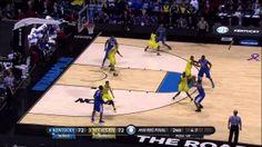 Aaron Harrison Sinks the Game Winner vs Michigan! Elite 8 2014   March 3...