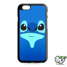Stitch Blue Face Cute iPhone 6 Case | iPhone 6S Case