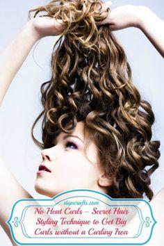 No Heat Curls – Secret Hair Styling Technique to Get Big Curls without a Curling Iron 아시안 와와바카라【 JAK4.RO.TO 】바카라게임사이트 정선바카라