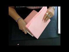 ▶ Como hacer una encuadernacion Parte 1 (Binding) muy resistente para álbum Scrapbooking - YouTube
