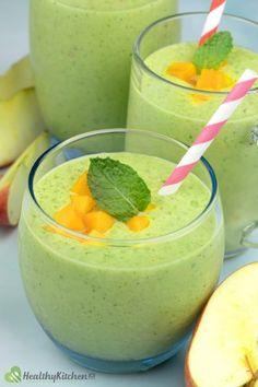 Watermelon Smoothie Recipe: A Simple Way to Freshen Your Body Mango Smoothie Healthy, Watermelon Smoothie Recipes, Healthy Drinks, Mango Types, Food Articles, Smoothie Ingredients, Plain Greek Yogurt, Sugar Cravings