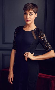 Look at Lucca from The Good Fight First Look: Return to the World of The Good Wife Cush Jumbo joined The Good Wife for its final season