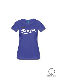 Kansas City Royals Forever T Shirt Women s and Men s by Dimestore Saint Kc  Royals Baseball c093c6fce
