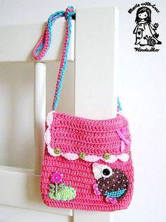 Little hedgehog crochet purse pattern