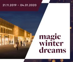 Das Designer Outlet für Premium Fashion » Bis -70% | OUTLETCITY METZINGEN Shops, Designer, Winter, Fashion, Shopping Mall, Product Design, Shopping, Places, Winter Time
