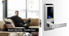 Family care: Secure your family with Ardwolf A20 fingerprint keyless smart lock.
