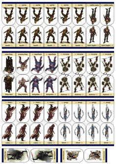 Impeccable image throughout printable d&d tokens