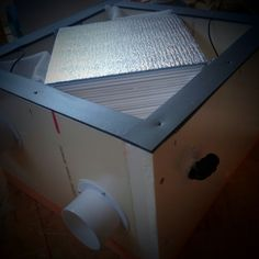 Дешевый рекуператор своими руками. - SD WorkShop Heat Exchanger, Passive Solar, Alternative Energy, Smart Home, Tiny House, Lighting, Building, Projects, Home Decor