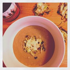 The Lush Chef: Silky Leek and Red Wine Soup