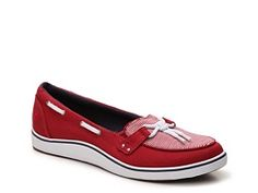 Grasshoppers Windham Striped Boat Shoe