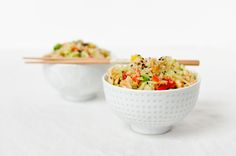 Crunchy Asian Quinoa Salad ||   The Fig Tree