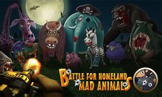 Amazing animal shooting game like you have never seen before! Get up to fight back those mad animals! <p>Pick up your guns, battle for homeland! <p>This popular game has stormed the Google Play! Fit every Android phones and tablets!<p>Mad Animals Features:<br>● Stunning 3D graphics <br>● Small size to download, just 10MB+<br>● Gatlin, Laser gun, Hell gun... Up to 15+ types of guns to select!<br>● Clear and cute maps, ridiculous animals!<br>● Earthshaking bombs help you clear massive…