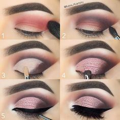 Everytime you do eye make-up, make your eyes look brighter. Your eye make-up want t… Simple Eye Makeup, Eye Makeup Tips, Smokey Eye Makeup, Makeup Goals, Skin Makeup, Makeup Inspo, Makeup Inspiration, Makeup Hacks, Eye Makeup Tutorials