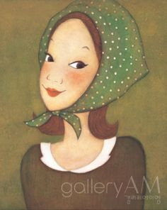 #Oriental painting   - Princess 2011, Youk Shim-won
