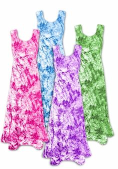 Shimmering Tie Dye Purple Pink Green or Turquoise Crush Velvet Plus Size & Supersize Princess Cut Tank Dress 1x 2x 3x 4x 5x 6x 7x 8x http://sanctuarie-net.stores.yahoo.net/neshpuortucr.html