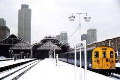 Chapter 2 - New World, London, England East End London, North London, London City, Electric Locomotive, Steam Locomotive, Disused Stations, Liverpool Street, Electric Train, British Rail