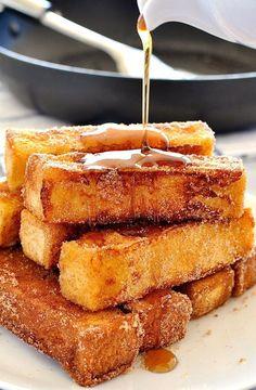 cinnamon french toast sticks