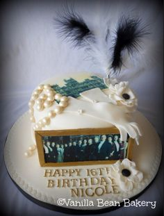 Downton Abbey cake