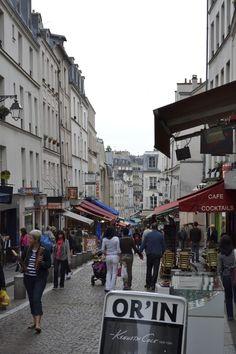 La rue Mouffetard - Paris