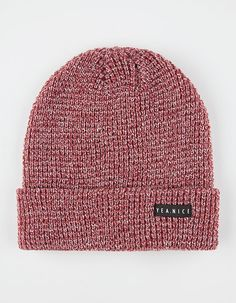 Nice The Folded Beanie Cranberry One Size For Men 26480232101 43b859c0bfdb