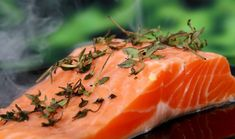 Increasing demands for sustainability in farming salmon has led to replacing part of the fish diet with vegetable oil. The result is salmon that has lower content of fatty acids. Is the new salmon still as beneficial for people to eat? Paleo Diet Food List, Diet Recipes, Healthy Recipes, Soup Recipes, Healthy Snacks, Recipes Dinner, Diet Tips, Steamer Recipes, Paleo Bread