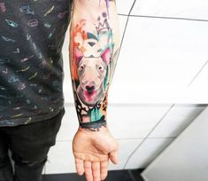 Dog tattoo by Dynoz Art Attack