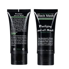 Women Skin Care Blackhead Remover Deep Cleansing Oil-control Purifying Peel Acne Black Mud Face Mask