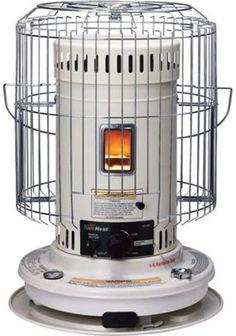 Sengoku KeroHeat 23,500-BTU Indoor/Outdoor Portable Convection Kerosene Heater, CV-23K Home Design, Best Space Heater, Indoor Electric Grill, Kerosene Heater, Radiant Heaters, Power Out, Bring The Heat, Black Appliances, Canned Heat