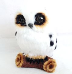 birthday gift free shipping owl figurine toy