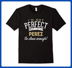 Mens Perez T-Shirt Family Reunion Shirt  Large Black - Relatives and family shirts (*Amazon Partner-Link)